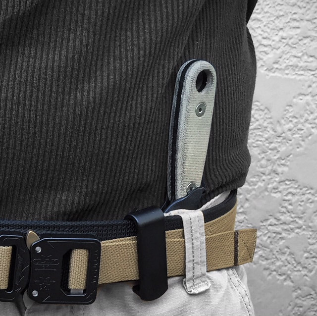 custom esee izula IWB inside the waistband concealed carry sheath
