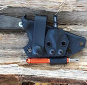 Best Custom ESEE Izula Kydex Sheath EXOtac fireROD